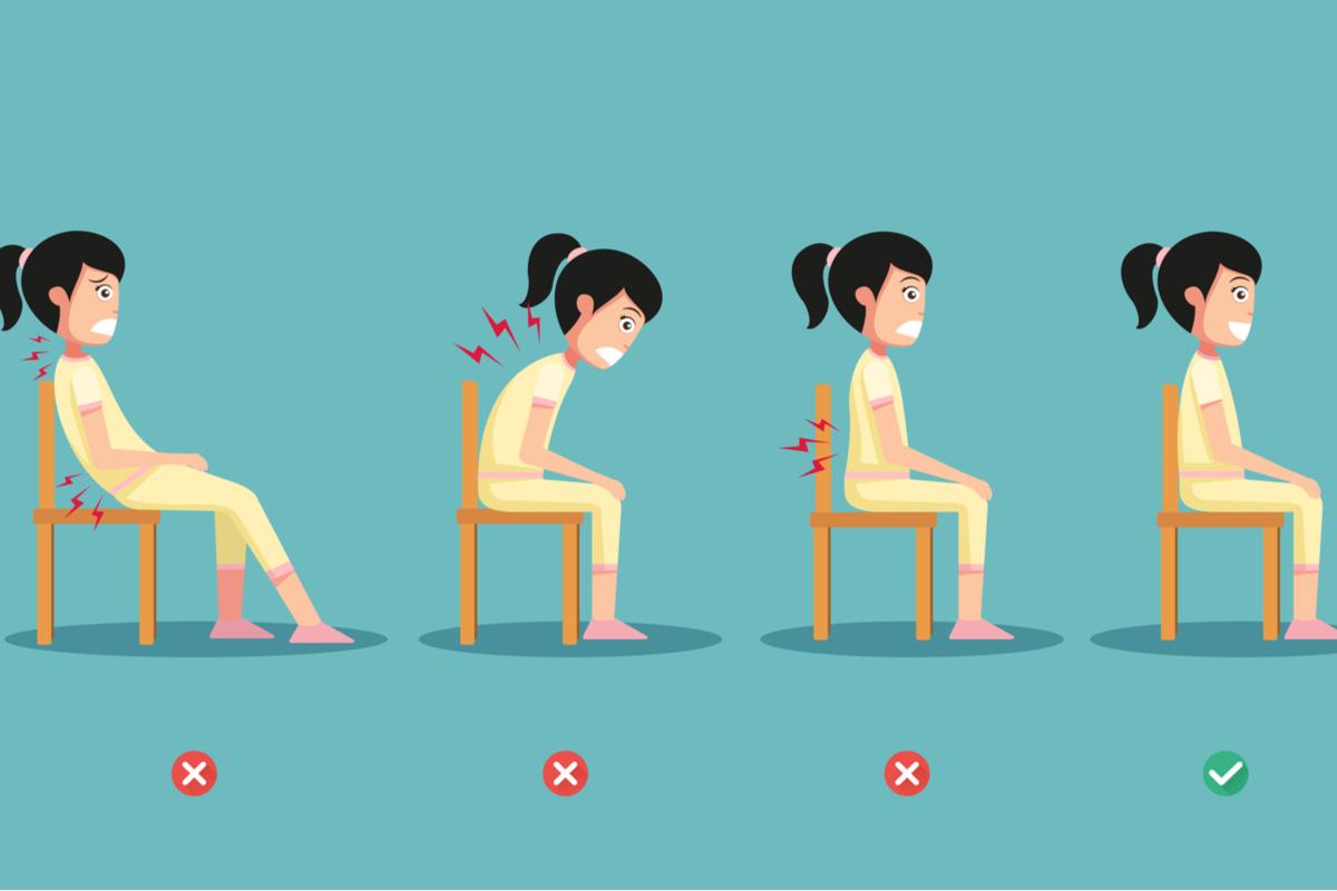 【太らない座り方】あきらめているあなたは?こんな姿勢です!